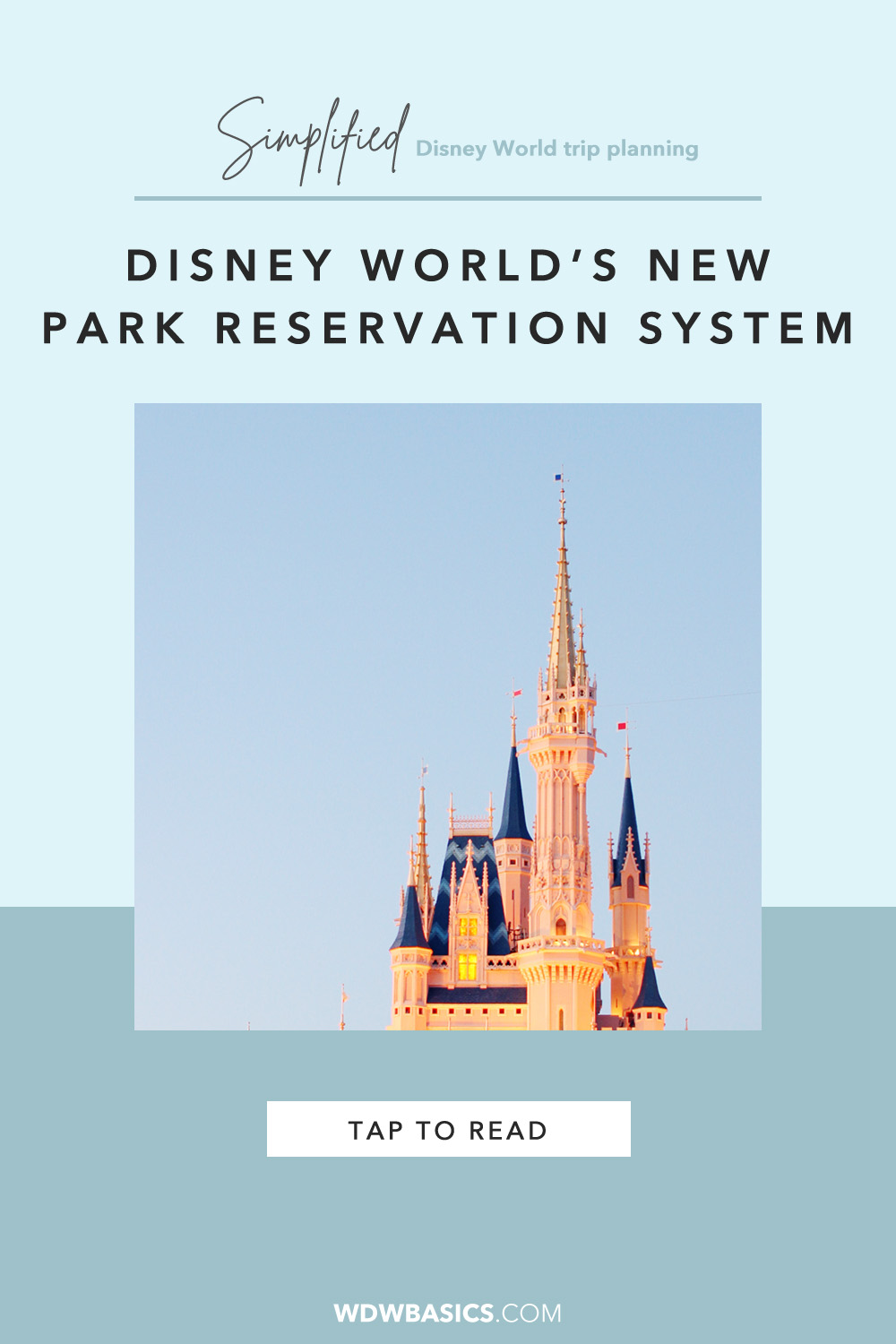 Disney World park reservations
