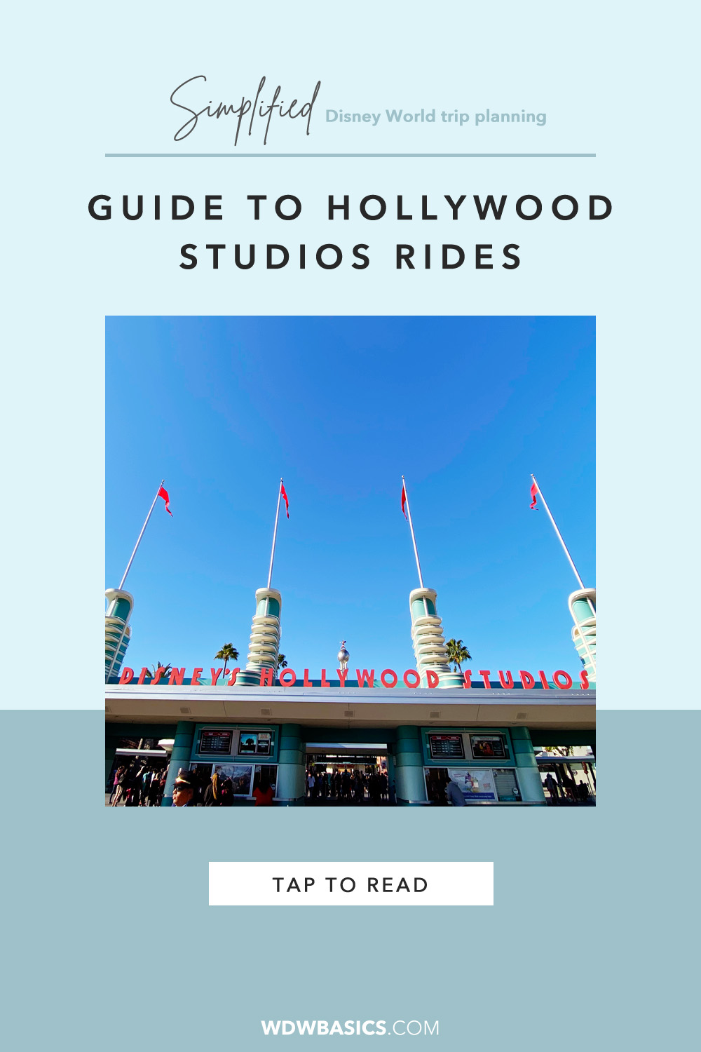 Guide to Hollywood Studios Rides