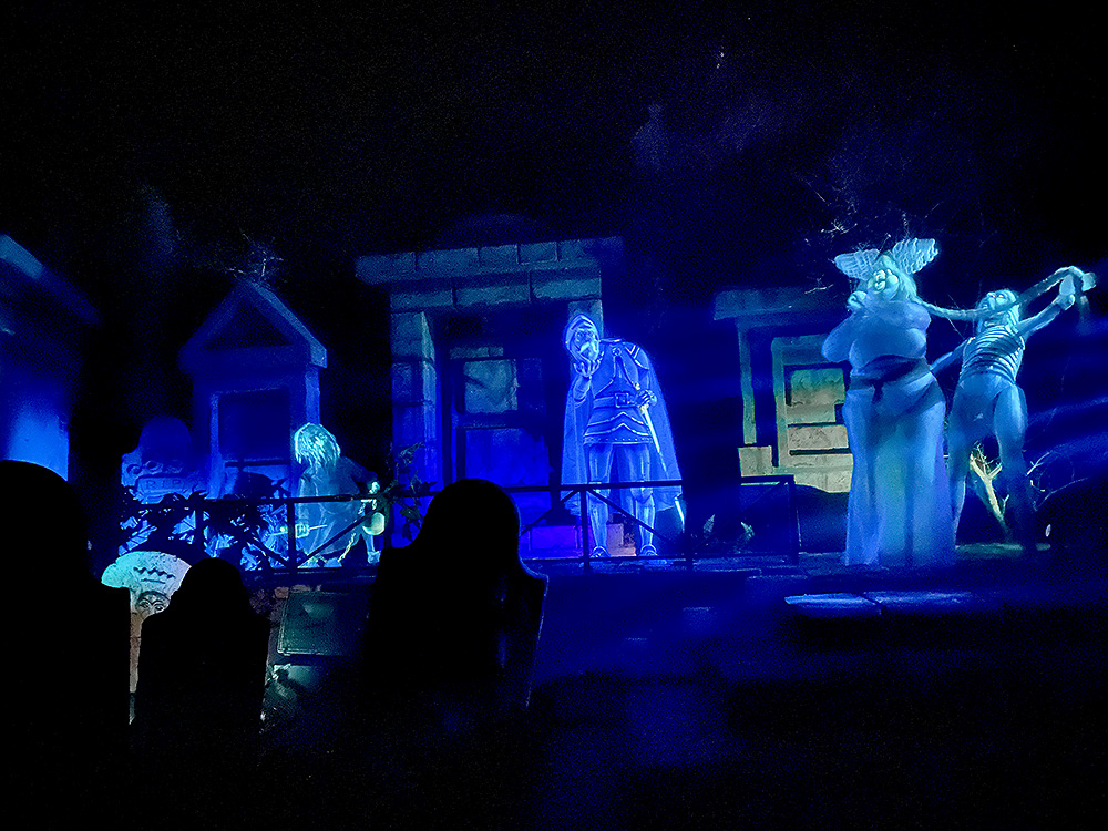 Haunted Mansion ride at Magic Kingdom
