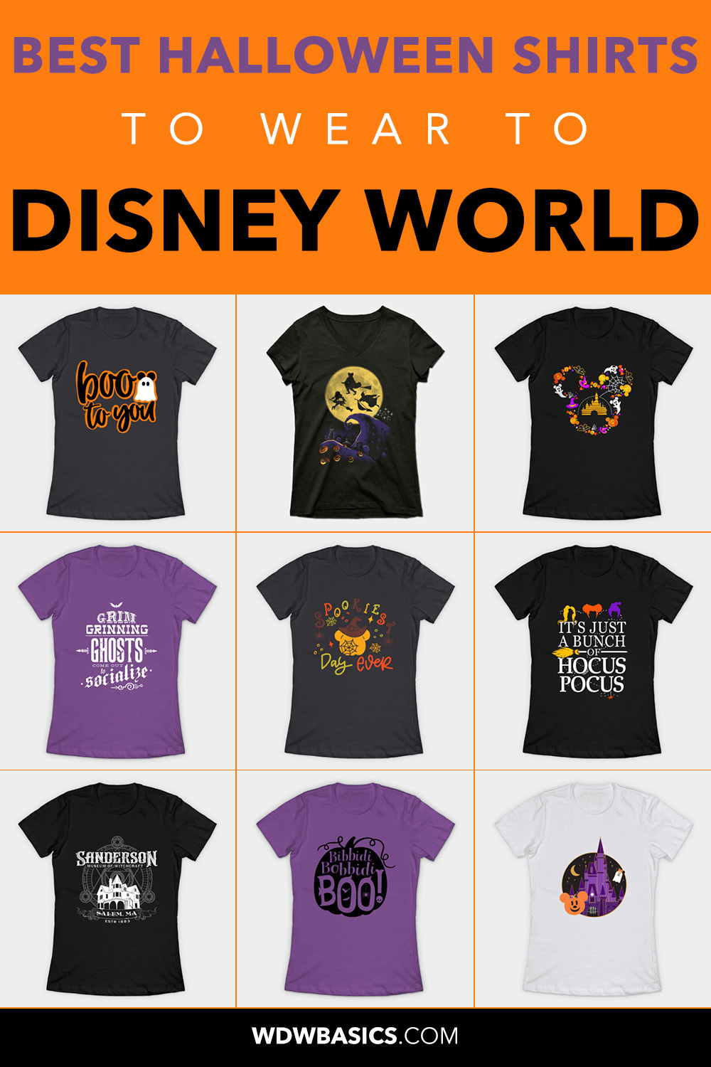 Best Disney Halloween Shirts
