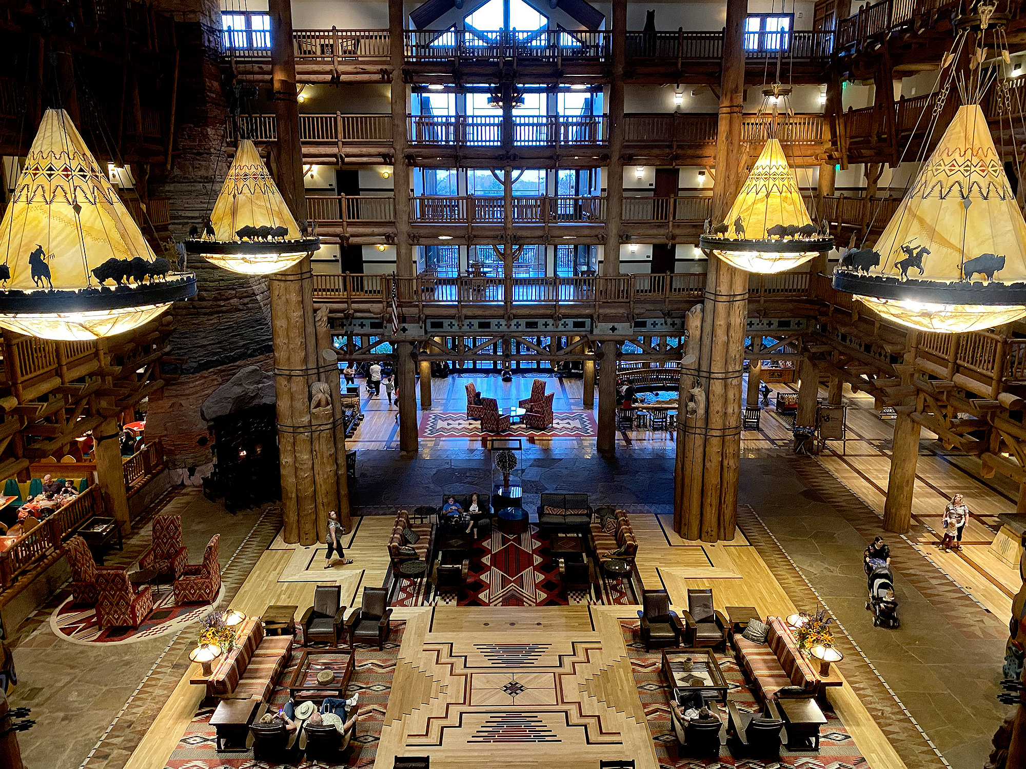 Wilderness Lodge hotel on Disney property