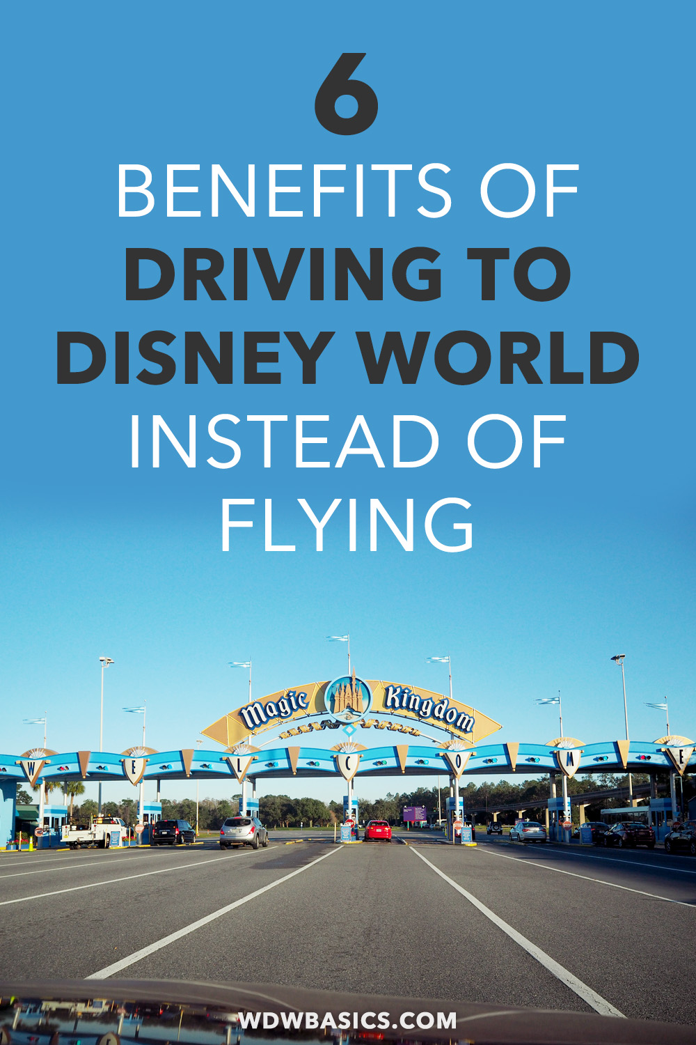 6 reasons to drive to Disney World
