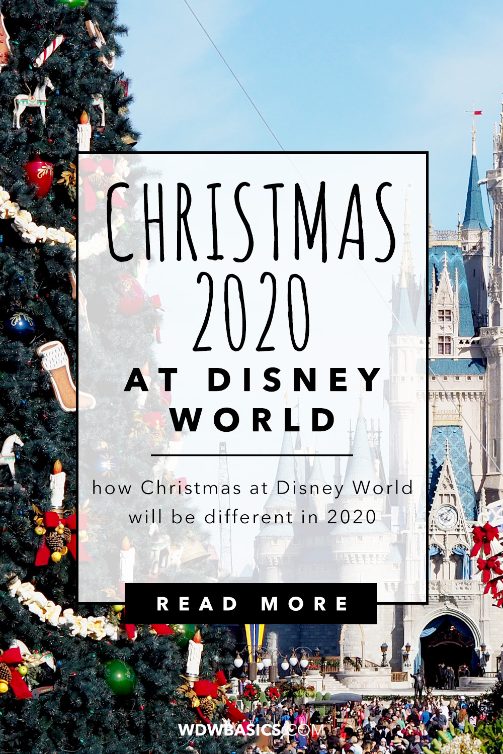 Christmas 2020 at Disney World