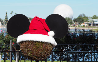 Christmas at Disney World in 2020