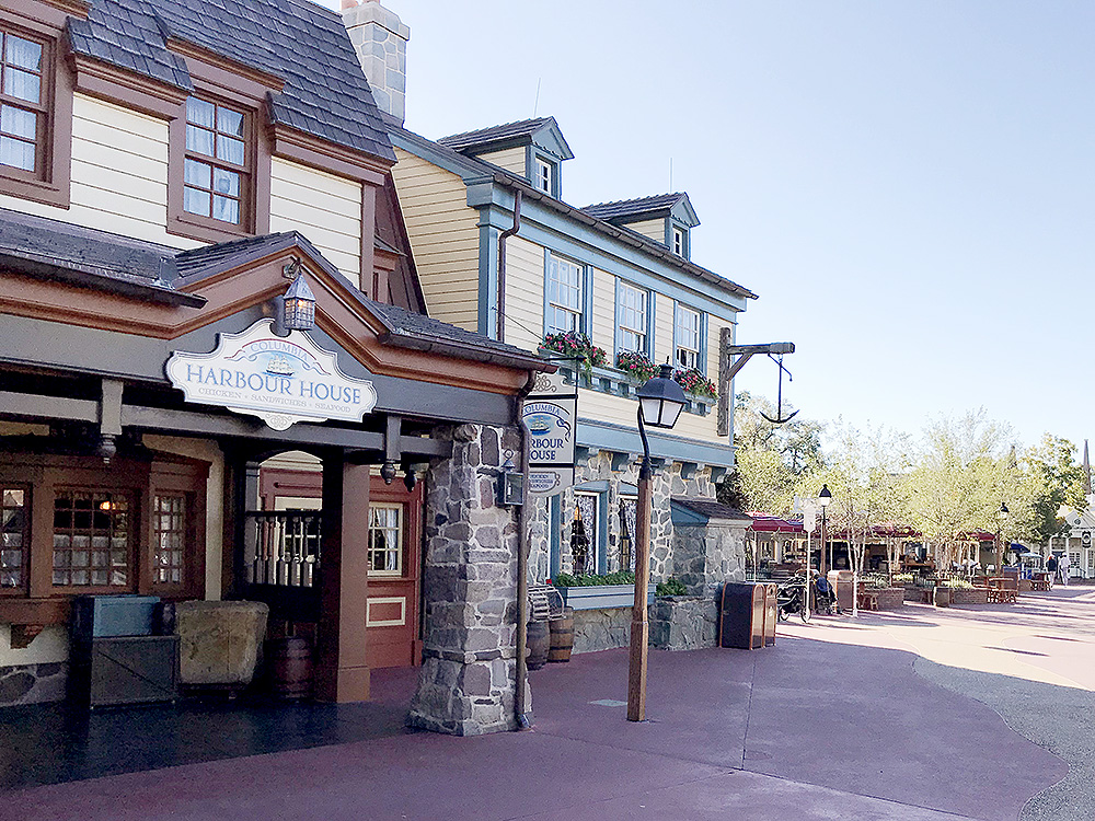 Best Quick Service at Magic Kingdom - Columbia Harbour House