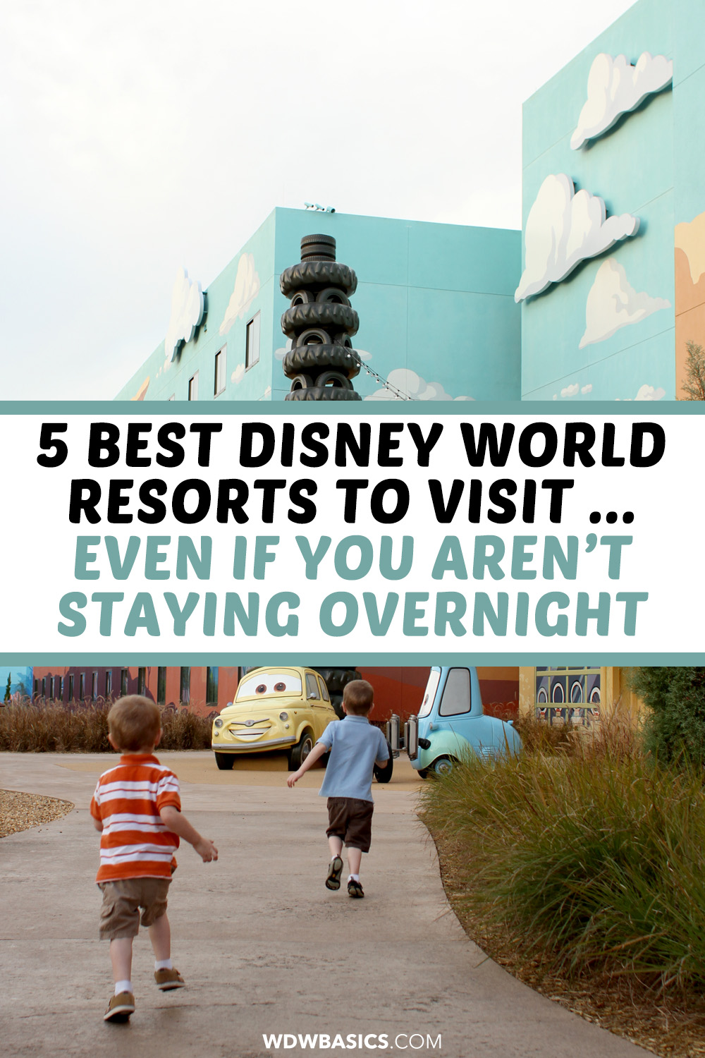 5 Best Disney World Resorts to visit ... even if you aren't staying overnight