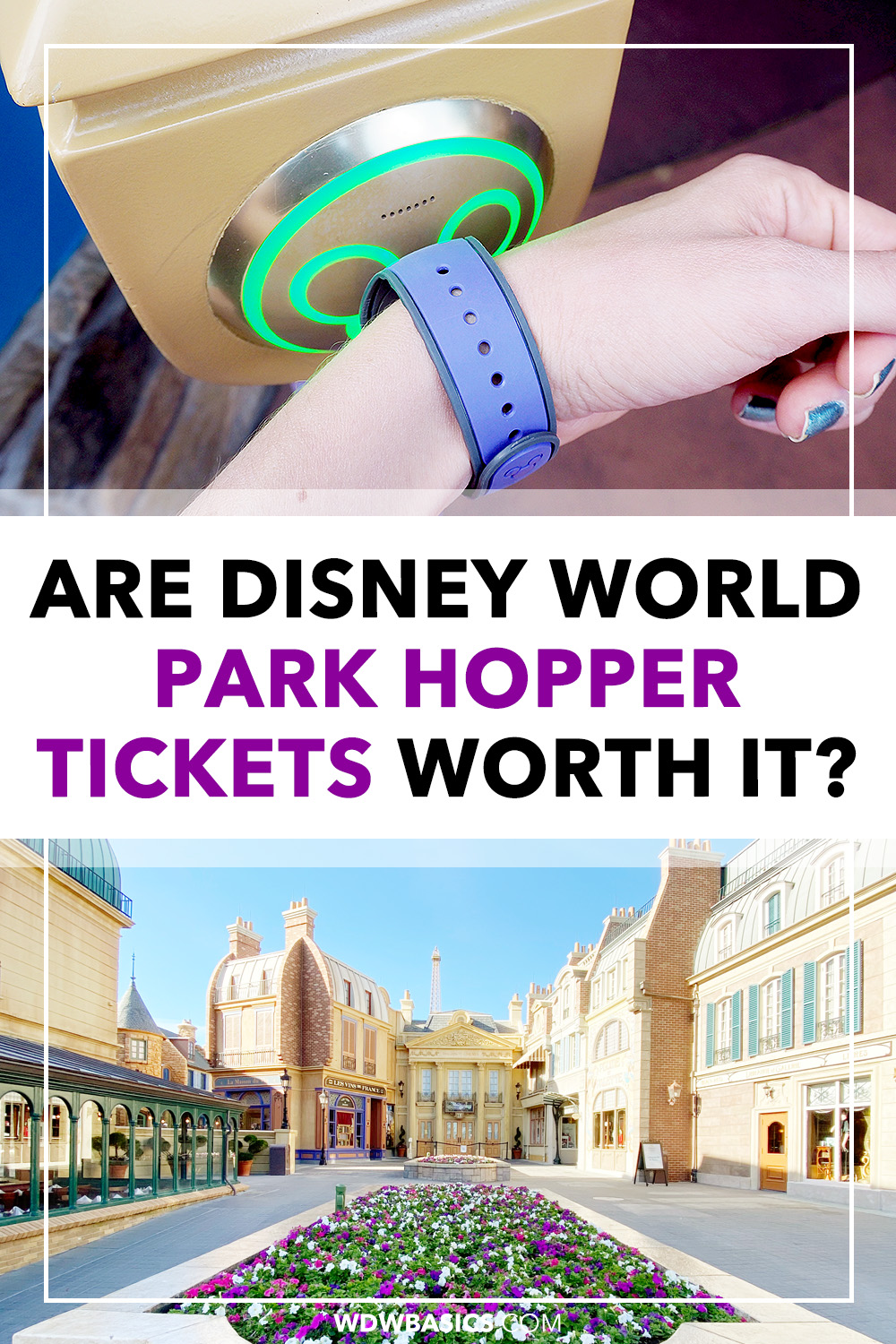 Are Disney World park hopper tickets worth it?