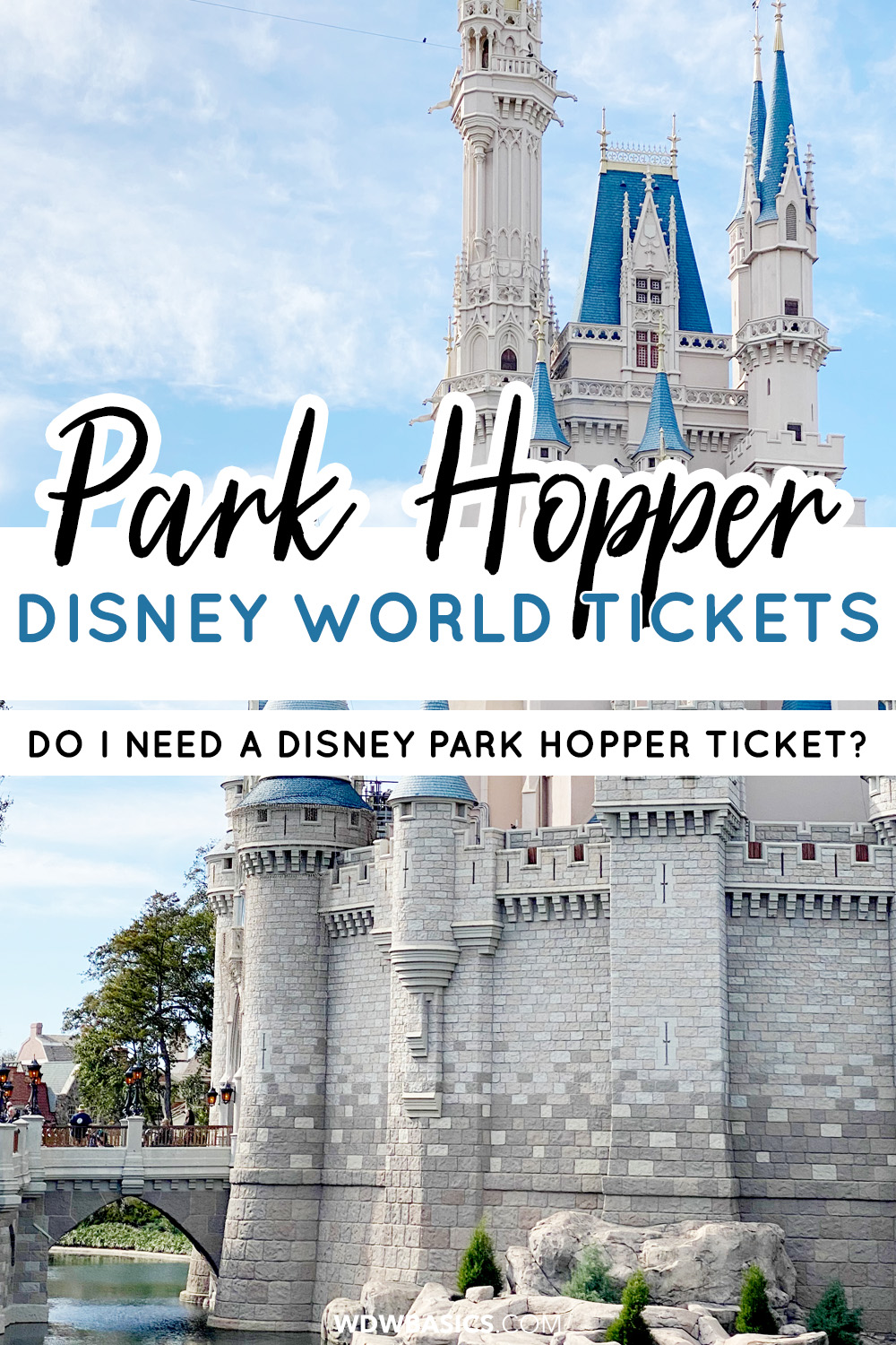 Do I need a Disney park hopper ticket?